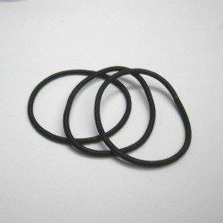 画像1: カラーリングゴム(金具なし)黒【1個】