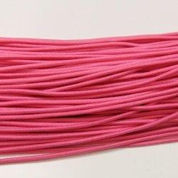 画像1: ウーリーゴム(細) 濃いピンク