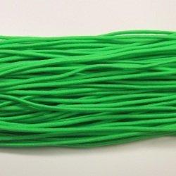 画像1: ウーリーゴム(細) 黄緑