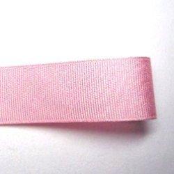 画像1: 25mm無地グログラン(薄ピンク色)