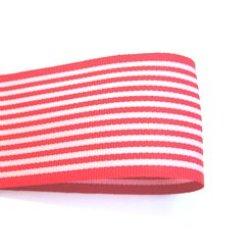 画像1: 40mm赤のストライプグログラン
