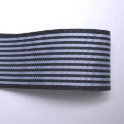 画像1: 40mm紺のストライプグログラン