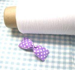 画像1: リボン結び糸(ボビン巻き)【1個】