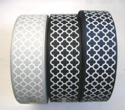 画像1: 【福袋】40mmモロッカン柄グログランリボン1m×3本セット