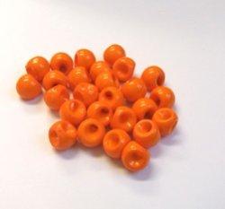 画像1: 12mmしずく玉(大)オレンジ【10個】