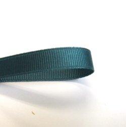 画像1: 10mm無地グログラン(青緑)