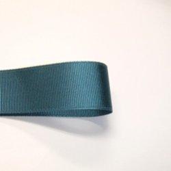 画像1: 25mm無地グログラン(青緑)