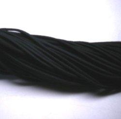 画像1: ウーリーゴム(太) 黒